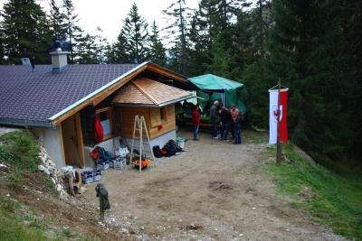 Einweihungsfeier Schoberwaldhütte