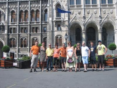 Tournee nach Budapest, Ungarn